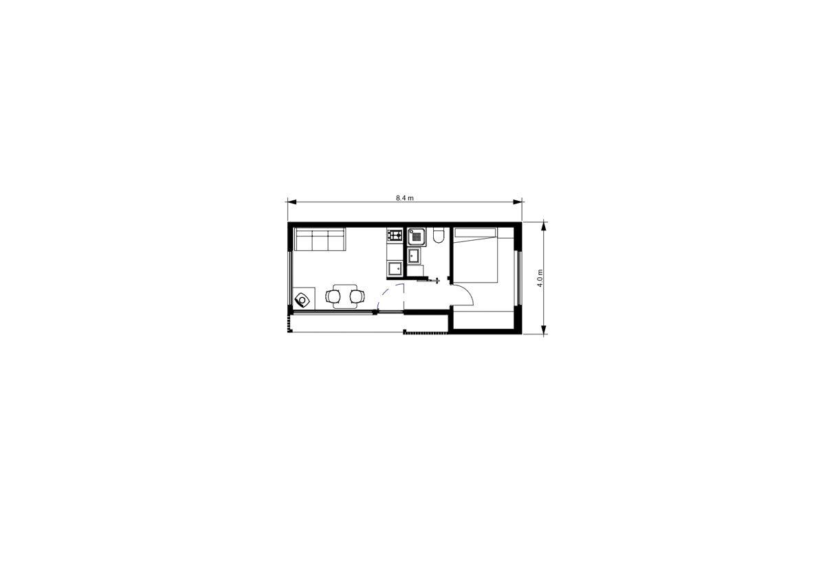 CĪRULIS 29 m²